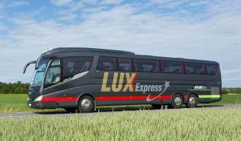 Lux-Express: Катаемся по Прибалтике от 0,26€