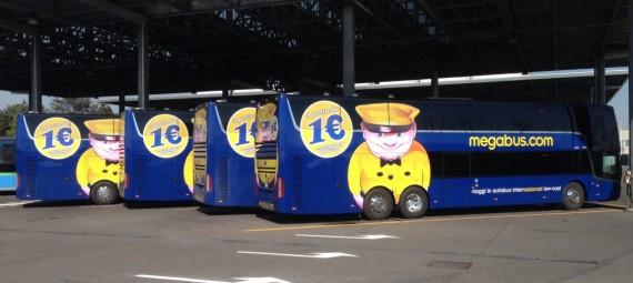 Megabus: билеты по Европе от 1€