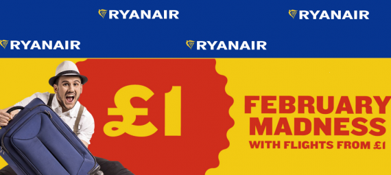 Ryanair, распродажа билетов